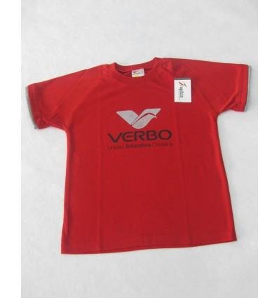 Camiseta roja unisex