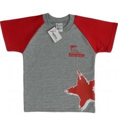Camiseta Gris Estrellitas